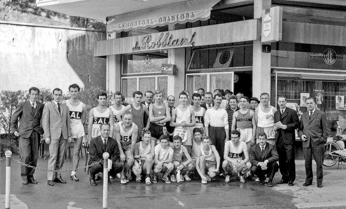 Coppa Bar Robbiani nel 1964.